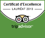 certificat excellence 2013